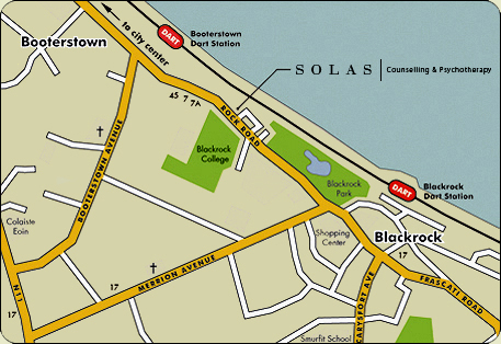 Solas location Map